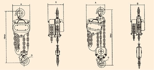 speed-spur-geared-chain-pulley-spec-y-seres