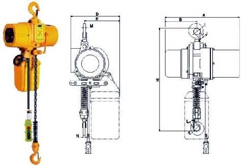 speed-chain-electric-hoist-ultimate-300-500kg-hook-spec